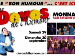 GRAND WEEK-END DES DEVOS DE L'HUMOUR