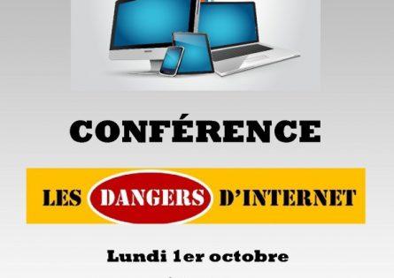 Conférence sur les dangers d'internet