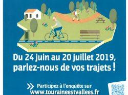 Enquête des déplacement piétons et vélos