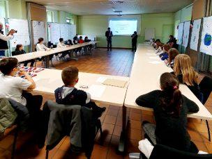 Lancement du Conseil Municipal des Jeunes