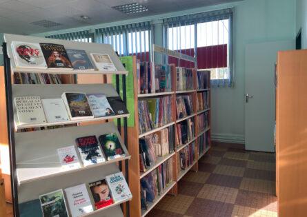 La bibliothèque se modernise